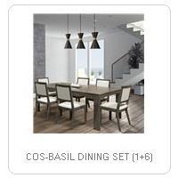 COS-BASIL DINING SET (1+6)